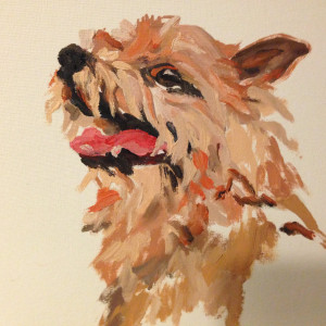 matilda dumas - dog paintings