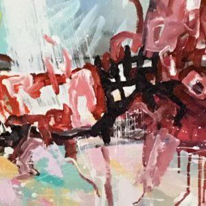 Matilda-Dumas - red abstract