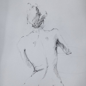 matilda dumas - Life Drawing #1