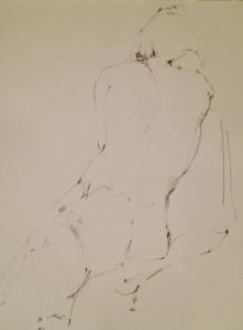 Matilda Dumas - Life Drawing #3