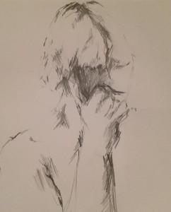 Matilda Dumas - Life Drawing #4