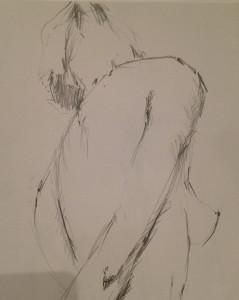 Matilda dumas - Life Drawing #5