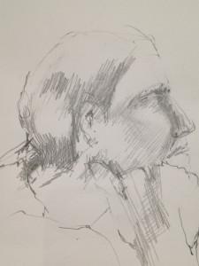 Matilda Dumas - Life Drawing #7